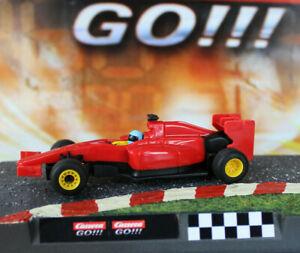 Carrera-Go-F1-rot-mit-Dectail-Set-Rennbahn-Auto-Slotcar-NEU-Formel-1-SALE