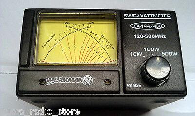 Workman SX-144/430 Amateur Radio Cross Needle Dual Band SWR/RF Meter for 2m/70cm