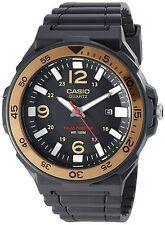 Casio Solar Powered MRWS310H-9BV Mens Watch, Tough Analog Automatic Black & Gold
