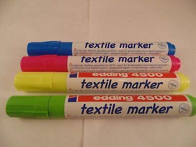 2-3mm Line Edding 4500 Textile T-Shirt Fabric Pen Marker Pen