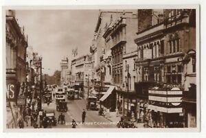 Cardiff-Queen-Street-Vintage-RP-Postcard-178c