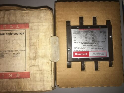 NOS Honeywell R8234B-1022 Tradeline 60A Contactor Magnetic Controller
