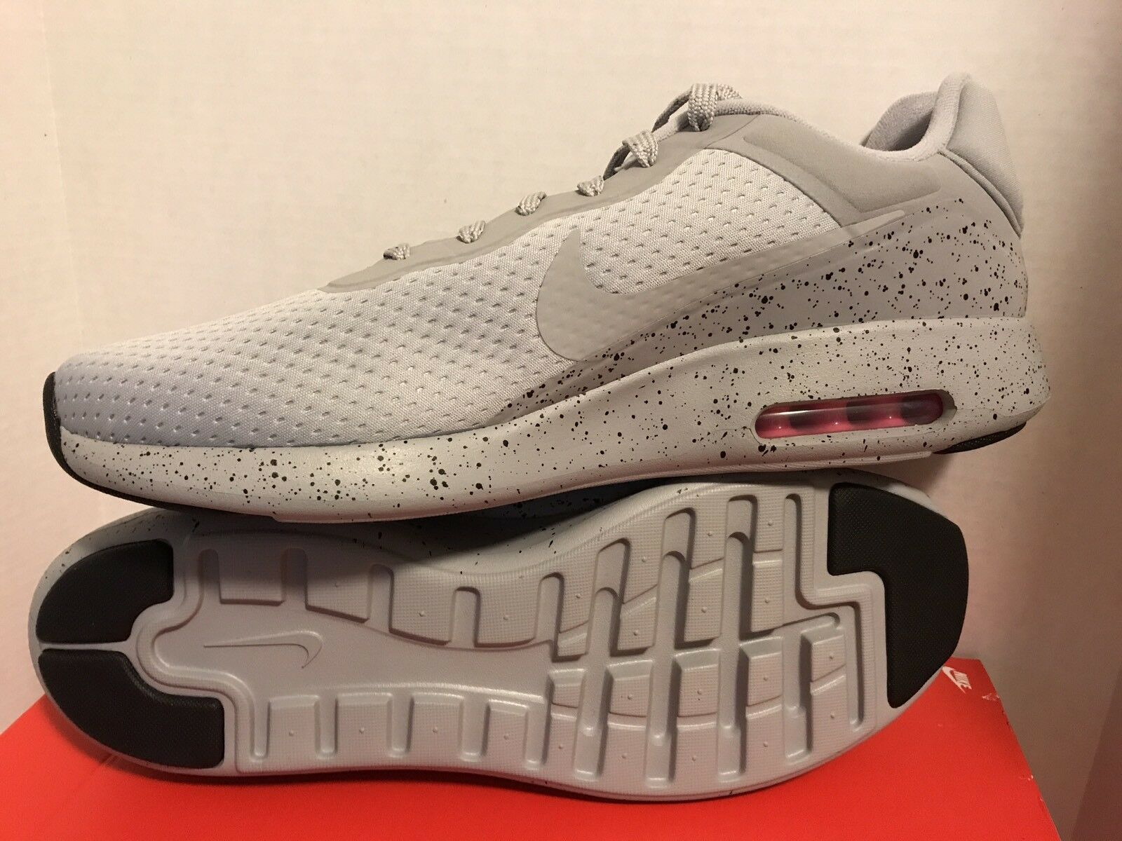 Nike Air Max Modern SE Running shoes Wolf Grey Pink Reflective 844876 001 SZ 14
