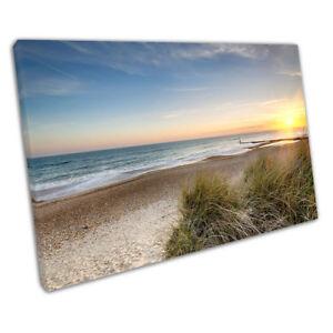 Sunset-sand-dunes-Hengistbury-Head-beach-Bournemouth-Dorset-Ready-to-Hang-X1315