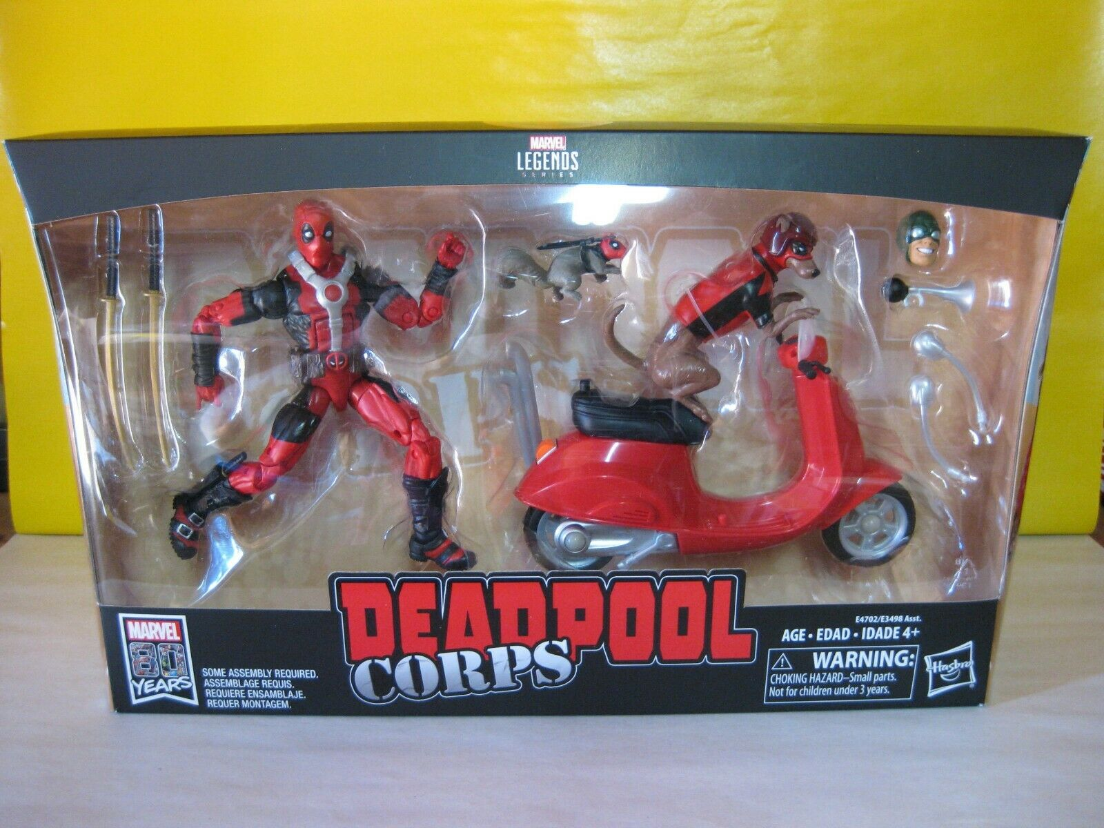 2018 Marvel Legends  Ultimate Deadpool 6  w Scooter Deadpool Corps Marvel Riders  shopping online di moda
