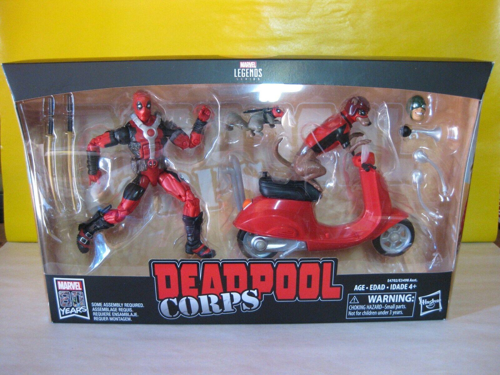 2018 Marvel Legends Ultimate Deadpool 6  w  Scooter Deadpool Corps Marvel Riders  popolare