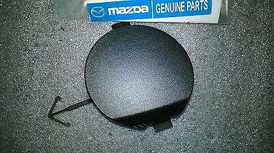Mazda 3 2010-2011 2.0L front bumper tow hook cover BBM4-50-A11C