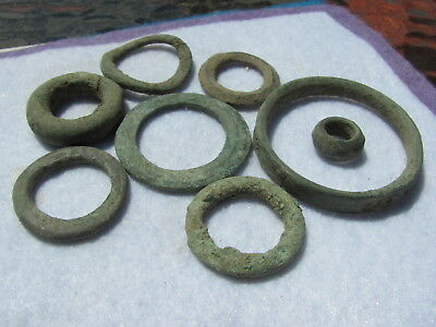 Pre Coinage Celtic Ring Money Dated 600 BC VERY ANCIENT 200 B.C 1
