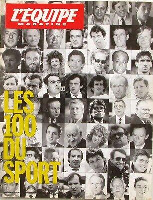 Goed L'equipe Magazine N°432 - 1989 - Rocheteau - Franz Beckenbauer -pierre Ballester