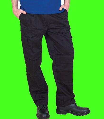 Genou Hommes Premium 305 G//M² Vêtement Travail Combat Cargo Pantalon Workwear