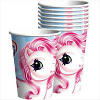 My Little Pony 9oz Paper Cups (8) Birthday Party Supplies Beverage Vintage