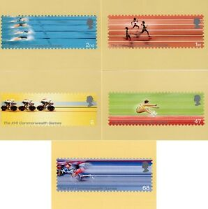 GB POSTCARDS PHQ CARDS MINT NO. 243 2002 THE FRIENDLY GAMES COMMONWEALTH
