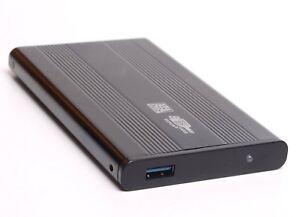 BIGtec Festplattengehäuse 2,5'' extern Aluminium USB 3.0 High Speed SATA HDD
