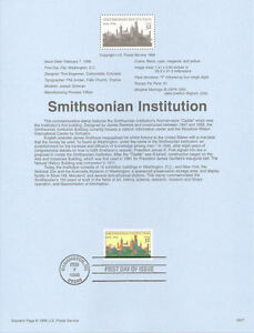 9607-32c-Smithsonian-Institution-Stamp-3059-USPS-Souvenir-Page