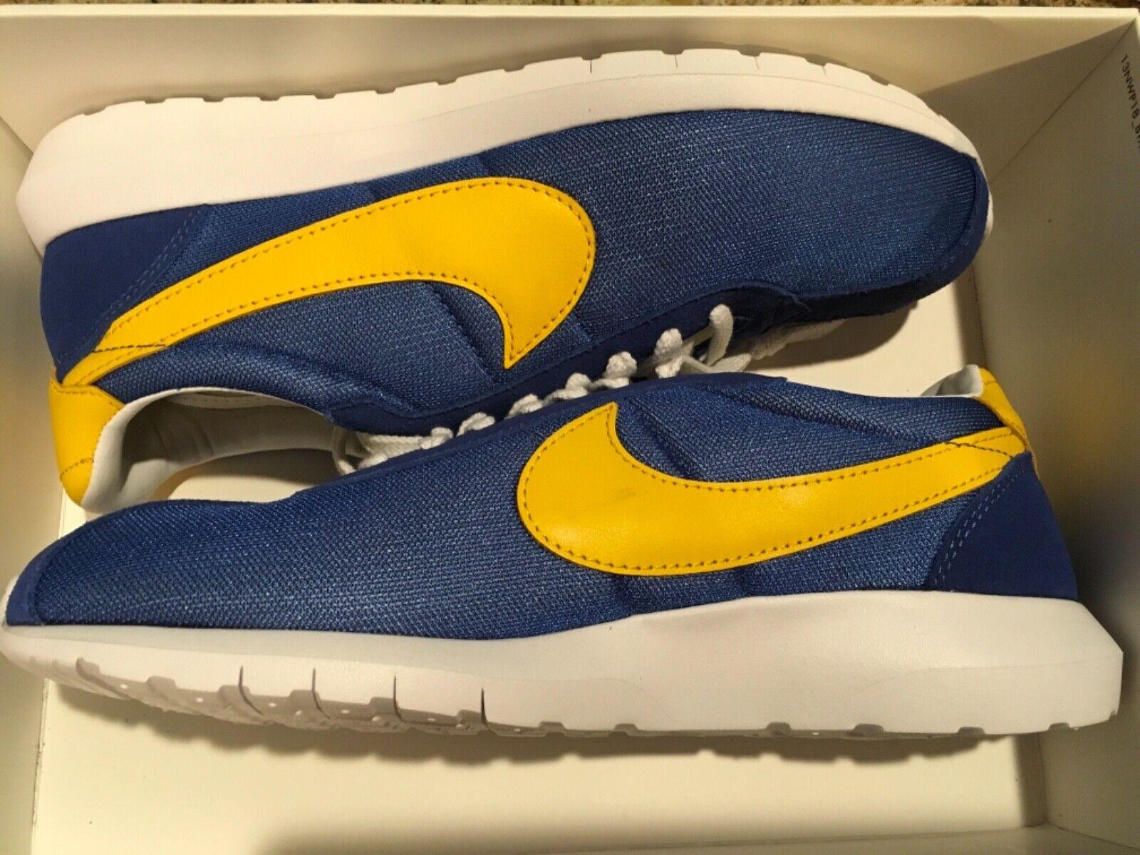 Nya Nike herr Roshe LD -1000 SP -löparskor 709657 -471 sz 11 universitets Royal