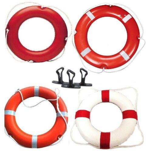 Life Buoy Ring White & Orange boat Yacht River Canal Pool Pond Lake Safety