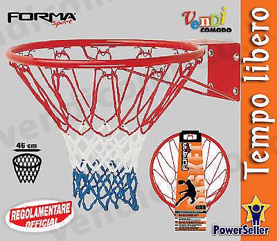 Coppia canestri SPORT pallone ONE 2 canestro regolamentare pallacanestro basket pallone SPORT 7bdba3