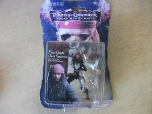 Pirates-of-the-Caribbean-Figure-Final-Battle-Jack-Sparrow-New-amp-Carded-Zizzle