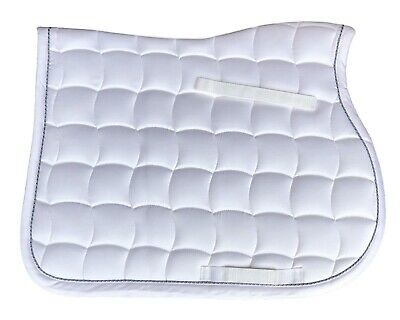Lami-Cell Elegance All Purpose White Synthermax Fiber Fill Cooling Saddle Pad