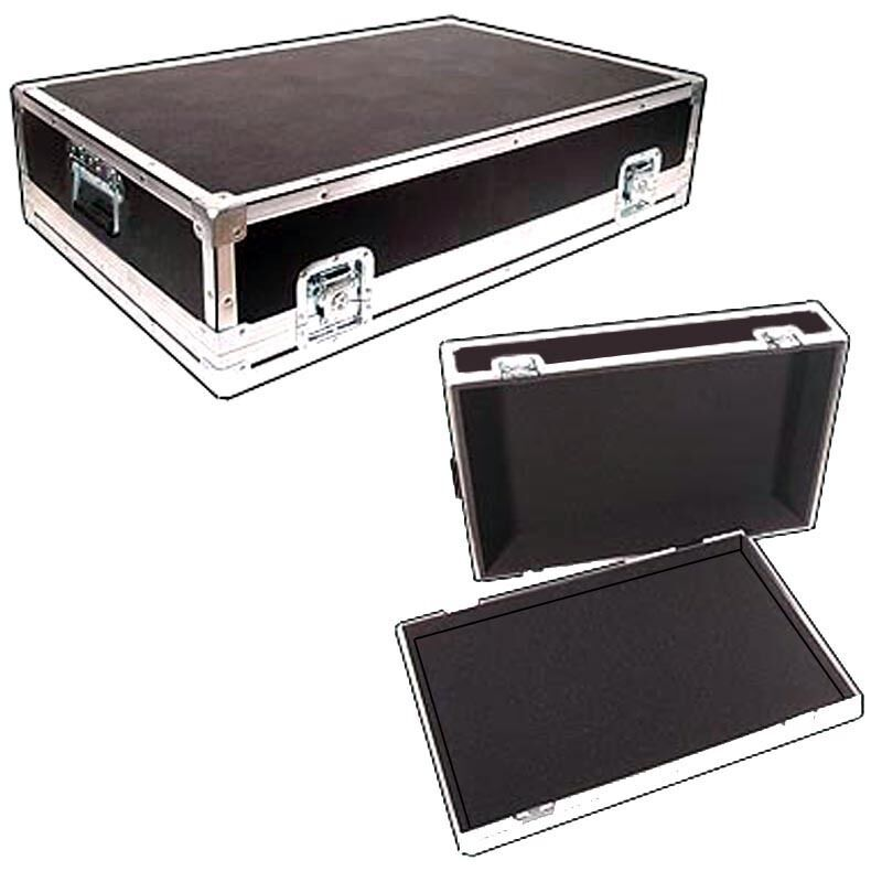 Light Duty ATA Case Recessed Carpet Lined For SOUNDCRAFT LX7 32 CHANNEL Mixer