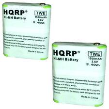 2-Pack HQRP Battery for Motorola M1000 EM1000R MR350R MR355R Two-Way Radio