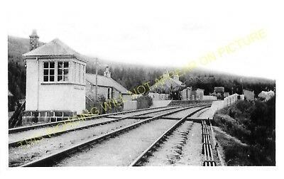 1 Monymusk Railway Station Photo Kemnay Kintore to Alford. Tillyfourie