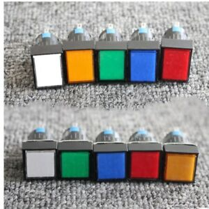 5V-12V-16mm-On-off-LED-Lamp-Momentary-Self-Lock-Push-Button-Switch-NO-NC-5-Pin