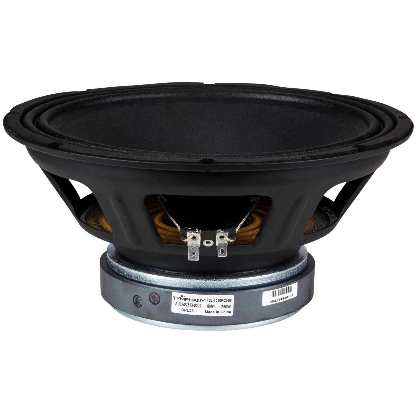 Peerless FSL-1020R02-08 Profesional Controlador de Woofer de 10    8 Ohm 117169