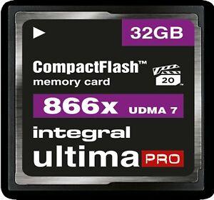 Integral 4GB/8GB/16GB/32GB/64GB scheda CF Compact Flash Memory Per Fotocamera Digitale