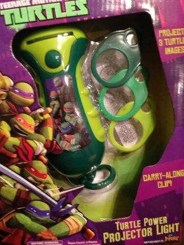 TEENAGE MUTANT NINJA TURTLES PROJECTOR LIGHT-NEW IN BOX-INC.3 IMAGES