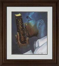 "African American Black Art Print ""RESTORATION (MALE)"" by Edwin Lester"