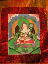 Weisse Tara Thangka aus Nepal (White Tara Thangka )