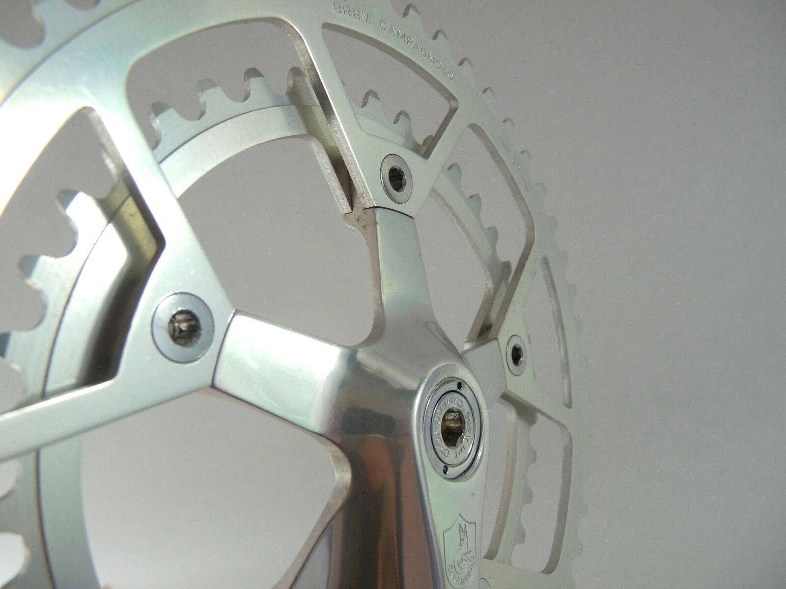 Campagnolo Victory crankset 170mm 52t 40t chainring Vintage Bike 7mm 1984' NOS