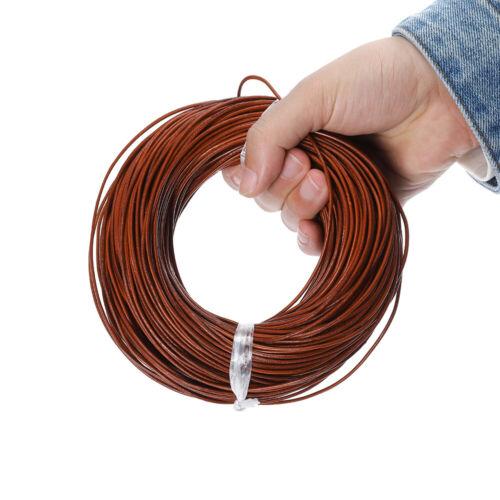 4mm 10-100M Handwerk Schmuck 3mm 2mm Echtes Leder Thong Cord-1,5mm