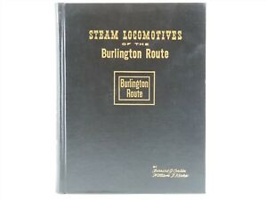 Steam-Locomotives-Of-The-Burlington-Route-by-Corbin-amp-Kerka-1960-Book-SIGNED