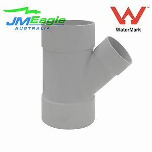 Details about 100mm x 65mm DWV PVC 45 degree Reducing junction F/F drainage  fittings