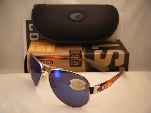 SO84 OBMP Costa South Point Rose Gold w//Light Tortoise Temples w Blue 580P