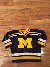 cebd6befa item 8 Michigan Wolverines NCAA Vintage Authentic Little King Newborn Hockey  Jersey 18M -Michigan Wolverines NCAA Vintage Authentic Little King Newborn  ...