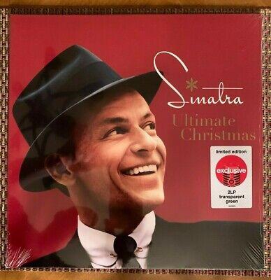 Frank Sinatra Ultimate Christmas Translucent Green Vinyl
