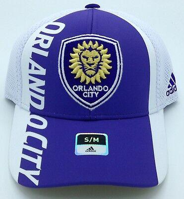 Memorabilia Mls Orlando City Fc Adidas Stuctured Curved Brim Fitmax'70 Cap Hat Beanie New Hot Sale 50-70% OFF