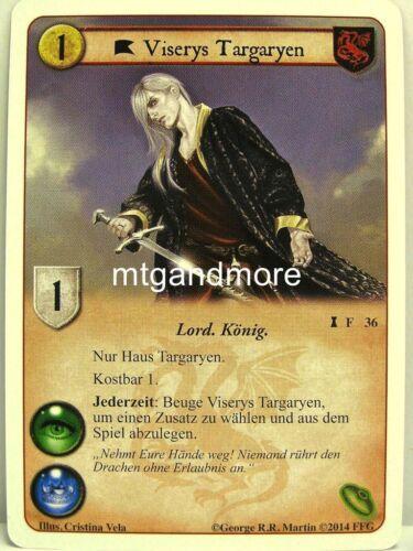 A Game of Thrones LCG 1x Viserys Targaryen  #036 Die Siegerbörse