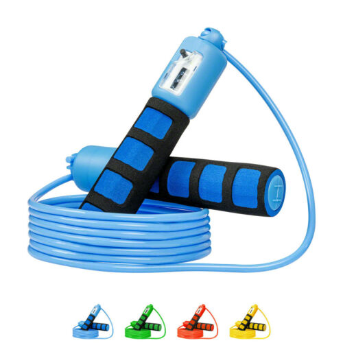 Jump Rope Hüpfseil 280 cm verstellbar Springseil mit Zählwerk