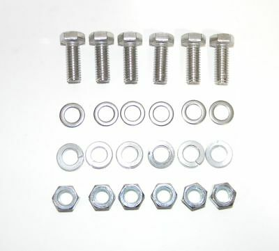 """ARP 400-1101 SBC Stainless Steel Header Bolt Kit Hex Head 3//8/"""" x 3//4/"""" 12 Pieces"""