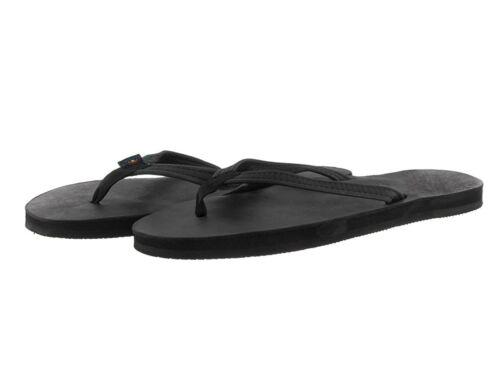 Women Rainbow 301ALTSN Leather Black Single Layer Narrow Strap 100/% Original New
