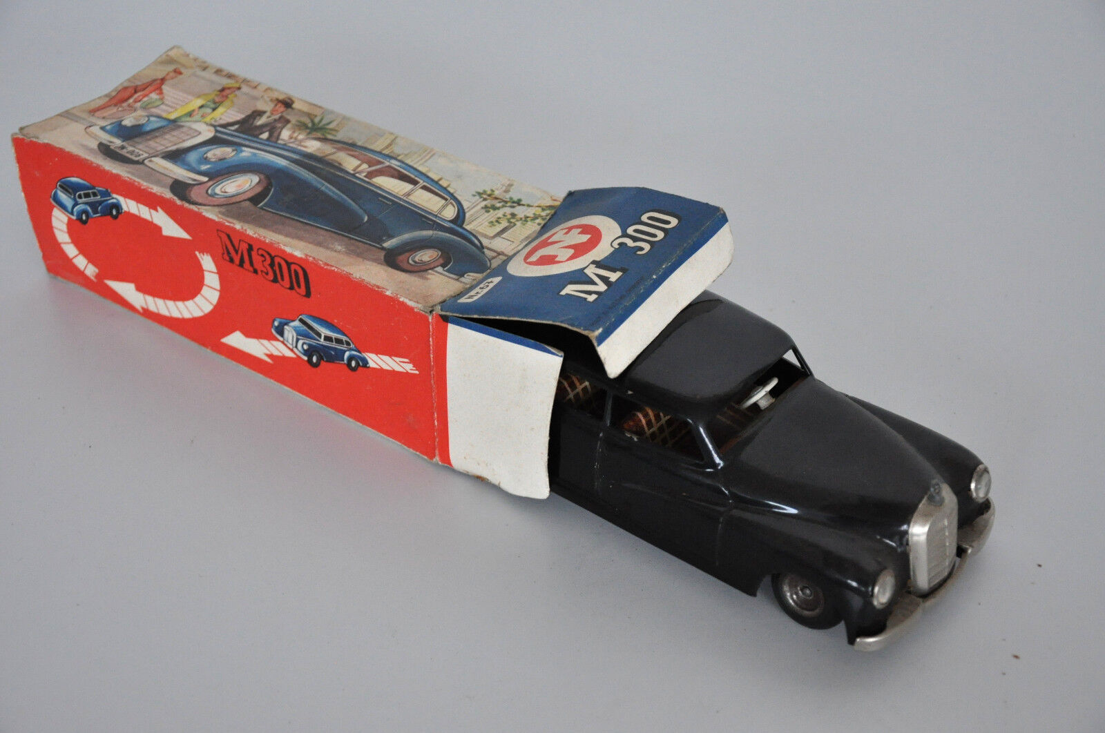 JNF M300 Mercedes Benz Blechspielzeug in Reprobox Nr. 67