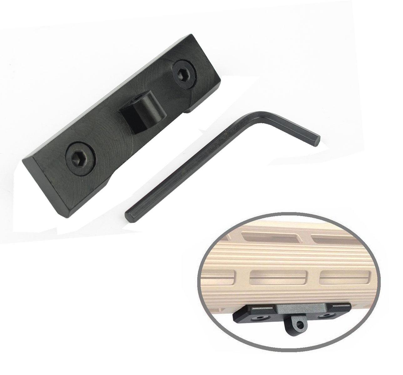 US_ M-Lok Bipod Mount Adapter - For Harris Sling Stud  ^NW Q