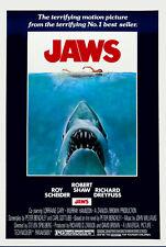 Jaws Movie  Aluminium Sign Home Theater Man Cave