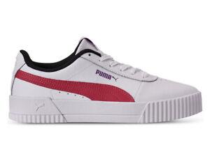 Arábica ciclo Escuela primaria  Nuevo Puma Carina L para Mujer 11 Tenis Blanco Blanc nrgy Rosa Shoes  Trainers | eBay
