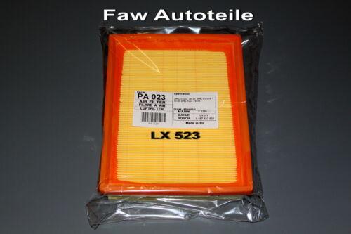 1457433603 Opel  Combo Kasten Corsa Tigra *PA023 Luftfilter LX523  C2256