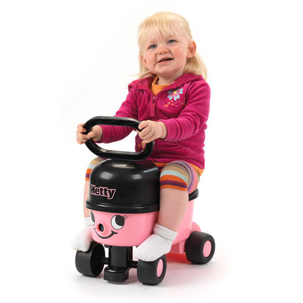 Casdon Pink Girls Sit n Ride on Hoover Car Vehicle Drive Outdoor Toys and Games